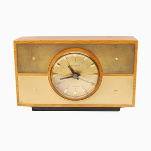 Mid-Century German Fireplace Clock from Weimar, 1970s