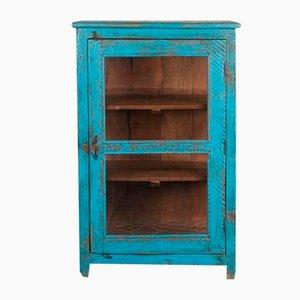 Vintage Indian Blue Balaji Cabinet