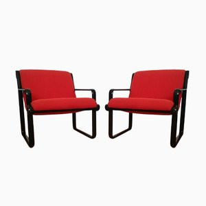 Model 2011 Armchair by Bruce R. Hannah & Andrew Ivar Morrison for Knoll International, 1970s
