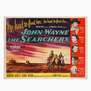 Cartel de la película The Searchers, 1956