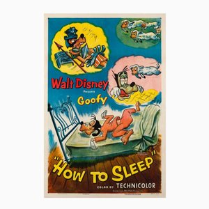 How to Sleep Film Poster, 1953