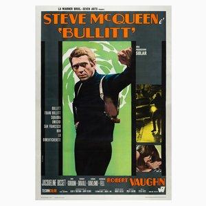 Cartel de la película Bullitt de Roberto Ferrini, 1968