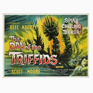 Póster de la película The Day of The Triffids, 1962