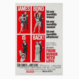 Poster del fim A 007, dalla Russia con amore di David Chasman, 1963