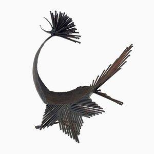 Vogel Skulptur von Michel Anasse, 1960er