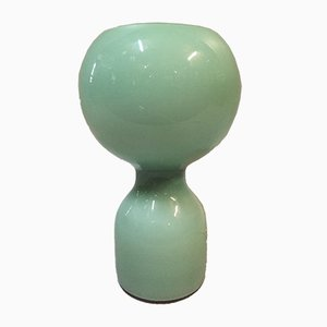 Light Green Blown Glass Table Lamp by Jean-Paul Edmonds-Alt for Philips, 1970s