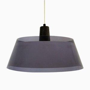 Lámpara colgante Tuomas acrílica de Yki Nummi para Orno, años 50