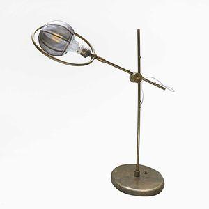 Bronze Crane Tischlampe von Angela Ardisson für Artplayfactory