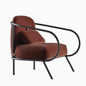 Minima Armlehnstuhl von Denis Guidone für Mingardo