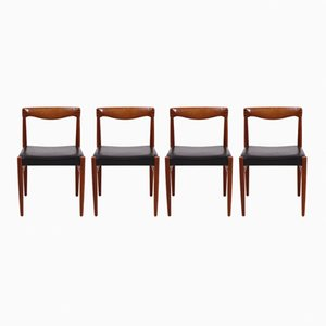 Dining Chair by H. W. Klein for Bramin, 1960s, Set of 4
