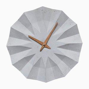 Polygon Wall Clock by Adam Molnar for MOHA design, 2015