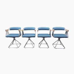 Pyramid Chairs by Rudi Verelst, 1975, Set of 4