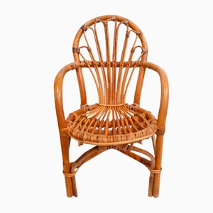 Rattan Children's Armchair, 1960s