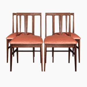 Mid-Century Afromosia Dining Chairs by John Herbert for A. Younger, Set of 4