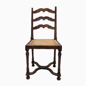 Jugendstil Beistellstuhl mit drehbarem Sitz, 1900er