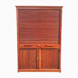 Antique Tambour Cabinet, 1900s