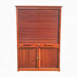 Mueble con cierre de persiana, siglo XIX