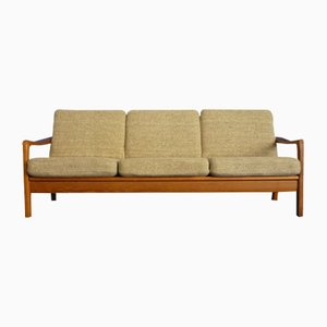 Dormeuse o divano in teak di Juul Kristensen, anni '60