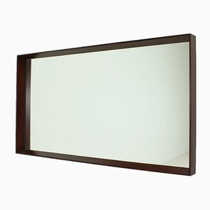 Danish Rectangular Wall Mirror, 1960s