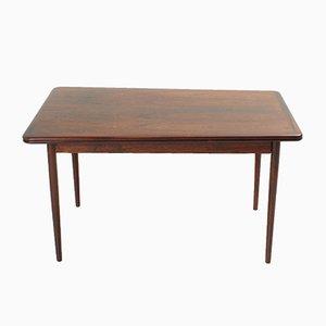 Mesa de comedor extensible danesa de palisandro, años 50