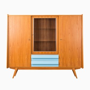Highboard mit Eschenholz Furnier, 1950er