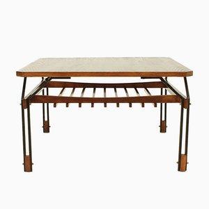 Table Basse en Chêne, Italie, 1950s
