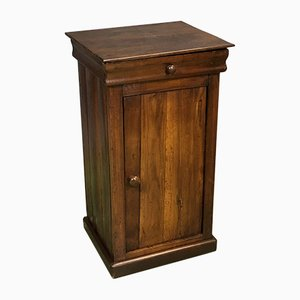 19th-Century Nightstand in Chestnut