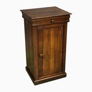Comodino in legno di castagna, XIX secolo