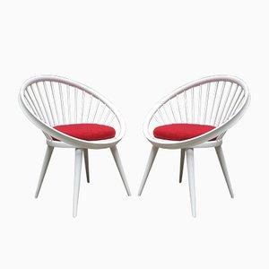 Chaises Circle par Yngve Ekström pour Swedese, Set de 2