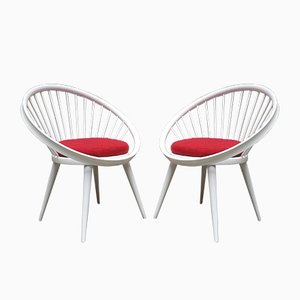 Circle Chairs by Yngve Ekström for Swedese, Set of 2