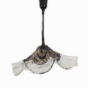 Lampe à Suspension en Verre Murano de Vistosi, Italie, 1970s