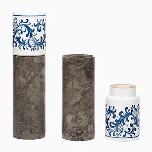 Innesto Vasen von gumdesign für La Casa di Pietra, 2er Set