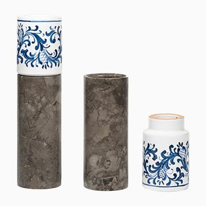 Innesto Vases by gumdesign for La Casa di Pietra, Set of 2