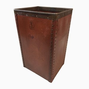 Cardboard Waste Paper Basket from Suroy, 1920s
