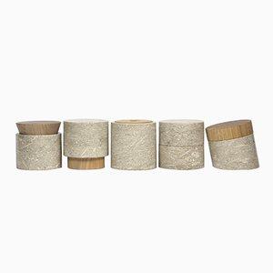 Contenuti Behälter von gumdesign für La Casa di Pietra, 5er Set