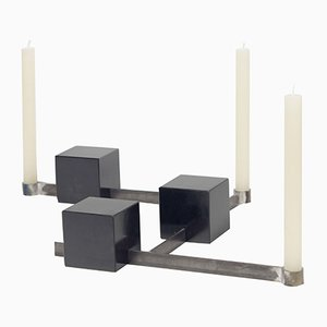 Fermatempo Candlestick Holders by gumdesign for La Casa di Pietra, Set of 3