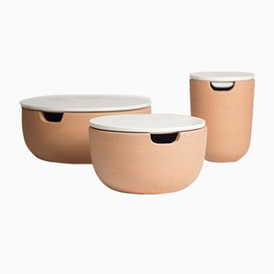 Agricola Centerpieces by gumdesign for La Casa di Pietra, Set of 3