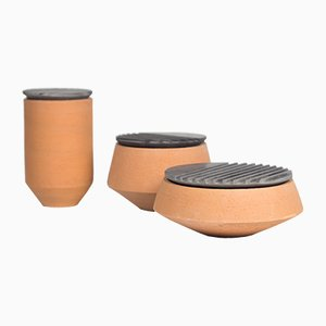 Traccianti Centerpieces by gumdesign for La Casa di Pietra, Set of 3