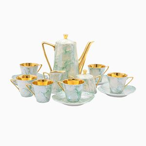 Polish Porcelain Coffee Set from Wawel Porcelain Factory, 1960s