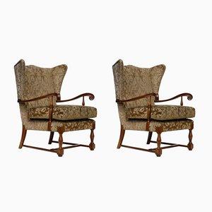 Italienische Vintage Sessel von Paolo Buffa, 2er Set