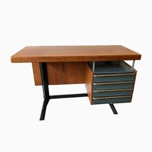 Modell Linha Cortez Schreibtisch von Daciano da Costa für Metalurgica da Longra, 1960er