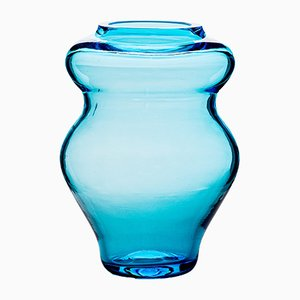 Vase Anfora Aquamarine par Stories de Italy
