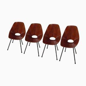 Chaises d'Appoint Modèle Medea par Vittorio Nobili, 1960s, Set de 4