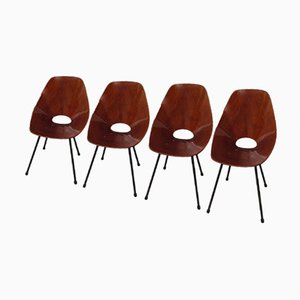 Modell Medea Stühle von Vittorio Nobili, 1960er, 4er Set