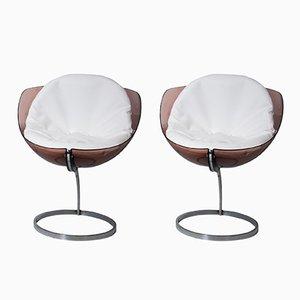Chaises Sphériques par Boris Tabacoff pour Mobilier Modulaire Moderne, 1971, Set de 2