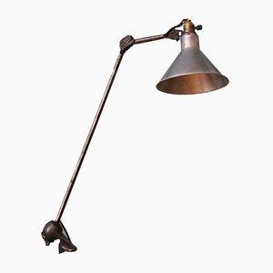 Klemmbare Schreibtischlampe von Bernard-Albin Gras für Ravel-Clamart, 1930er