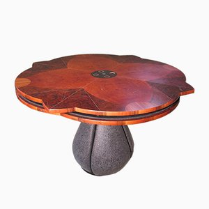 Tavolo vintage allungabile, anni '70
