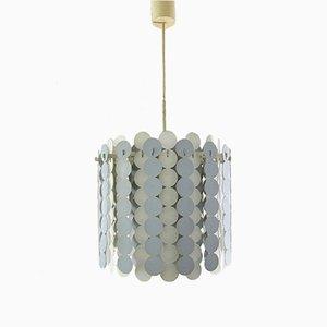 Lampada a sospensione vintage in metallo di Doria Leuchten