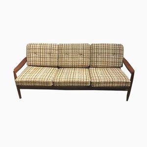 Mid-Century 3-Sitzer Sofa aus Teak
