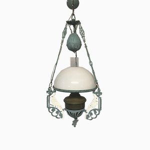 Vintage Pendant Lamp with Parrots